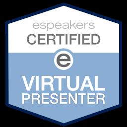 Speakers Certified Virtual Presenter logo